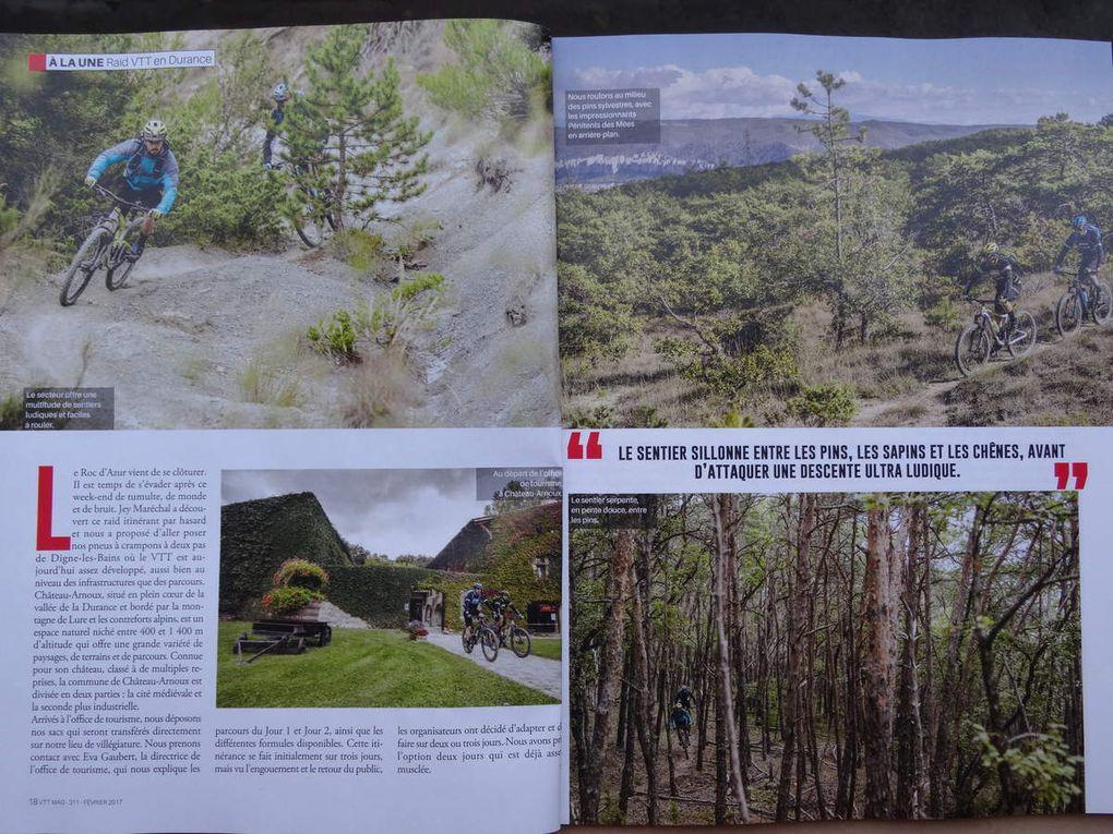 VTT Magazine Février 2017 en Val de Durance