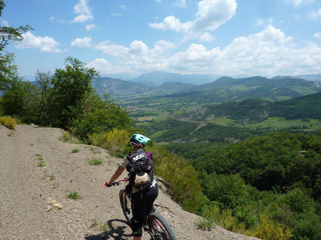 Week-end VTT dans les Hautes Terres de Provence (23/06/2018) à Gigors (04)