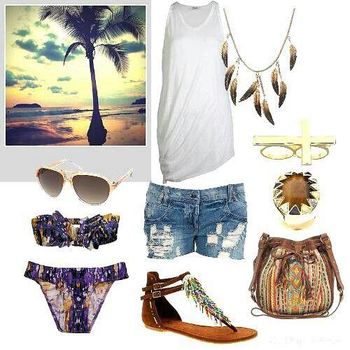 Une journée à la plage, je prends quoi?