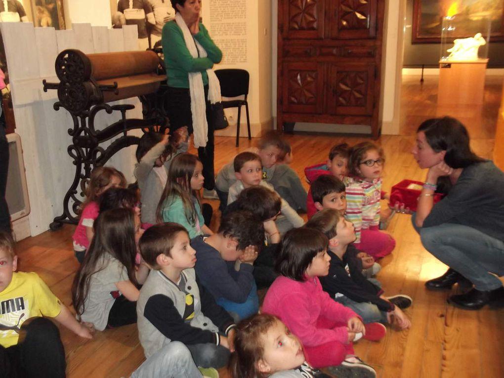 La visite au musée des Jacobins.