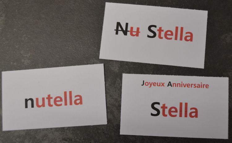 Nutella pour Stella