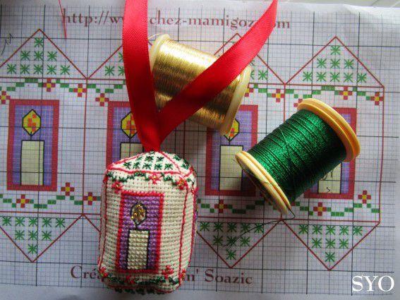 Nouveau Petit Lampion pour Sapin de Noël