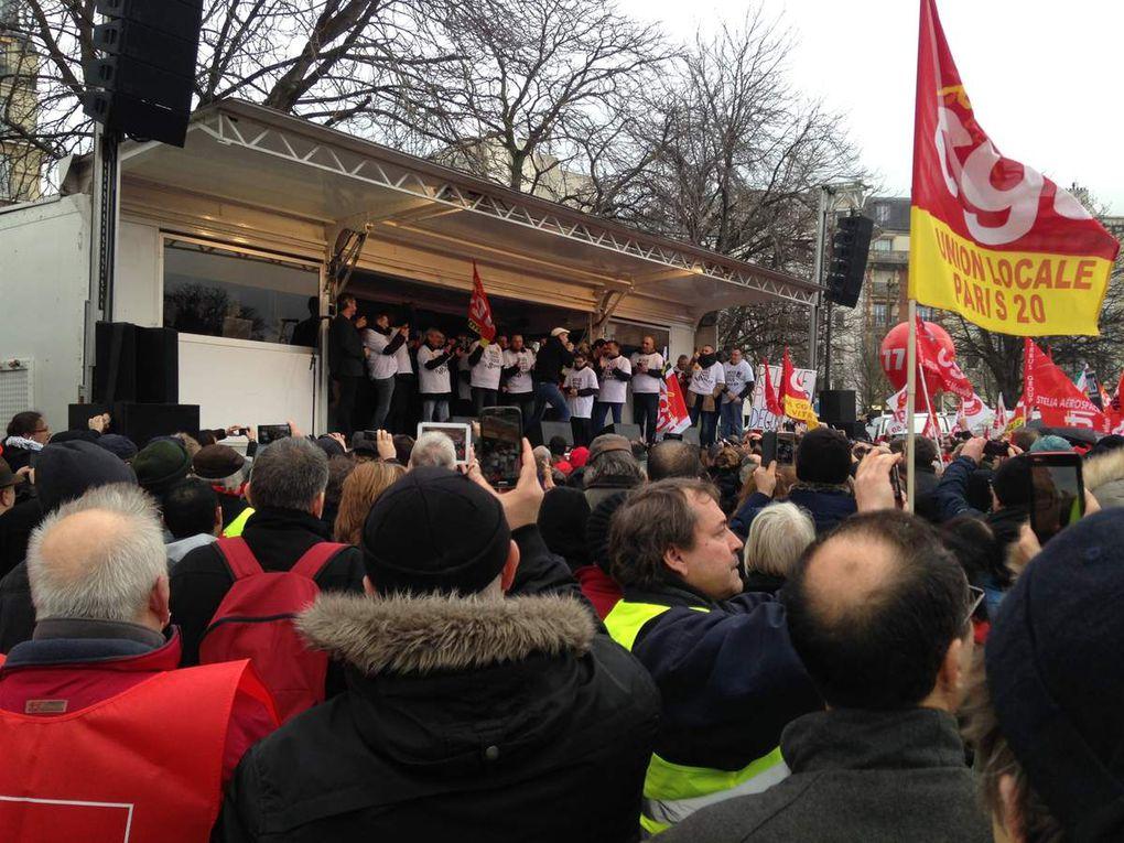 Mobilisation pour les &quot&#x3B;8 condamnés de Goodyear&quot&#x3B; et la &quot&#x3B;liberté syndicale&quot&#x3B;