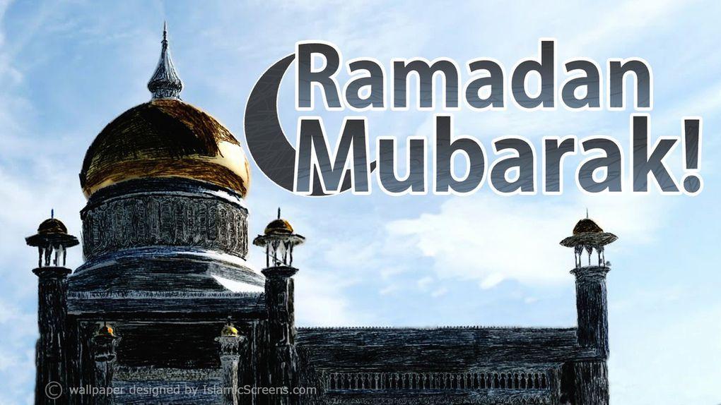 Ramadhan Moubarek!