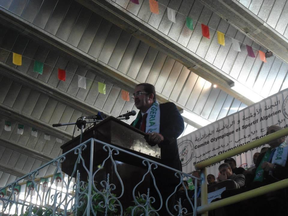 Les Olympiades &quot&#x3B;sport Sud&quot&#x3B;à Laghouat&#x3B;cérémonie d'ouverture .