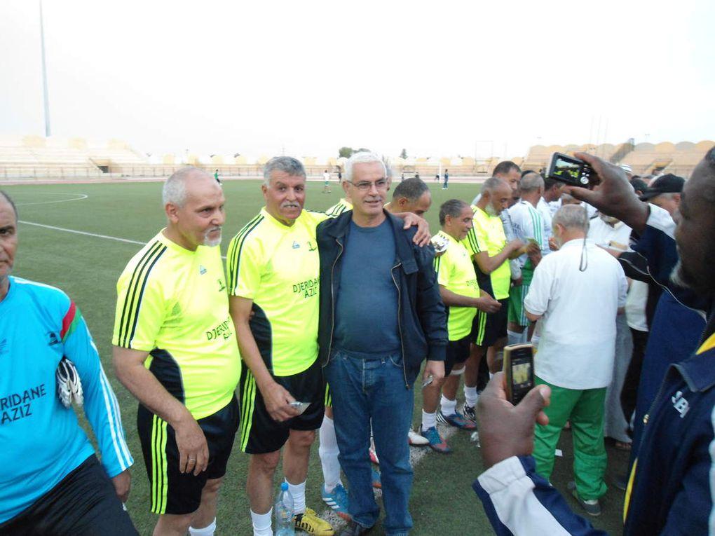 La rencontre vétérans IRBL vs vétérans du RCElGoléa à la mémoire de Hadj Aziz Djeridane(rahimahou Allah)