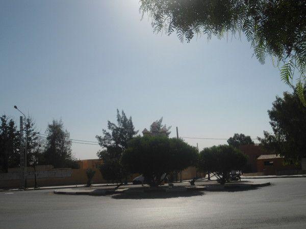 Les alentours de l'école.