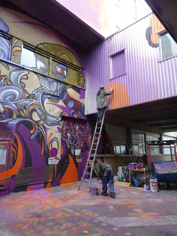 &quot&#x3B;We Art Urban&quot&#x3B; à Lagny : de l'hôpital au street art