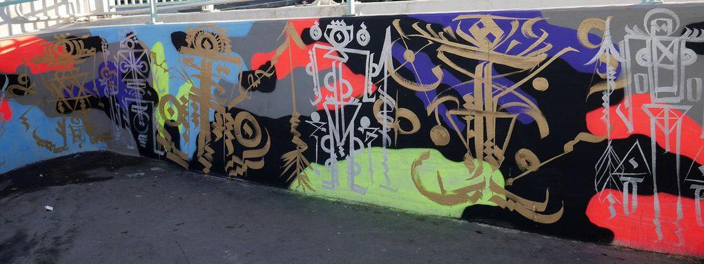 Street art à la gare de Saint-Denis