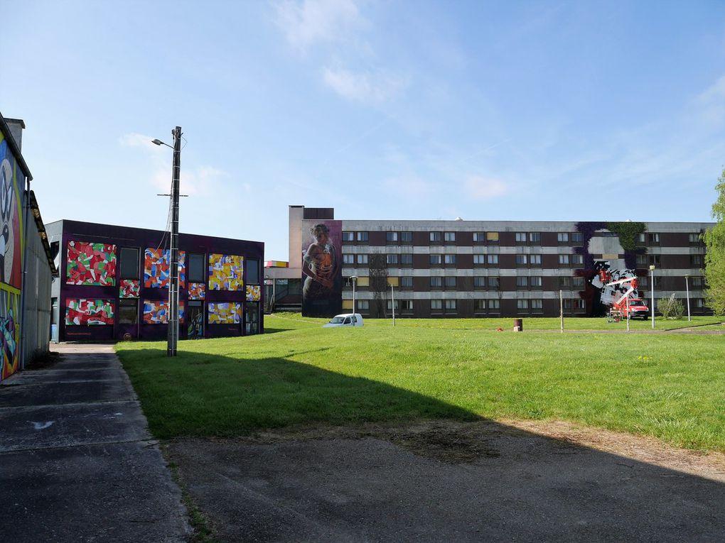 Un lieu immense dédié au street art: Street Art City