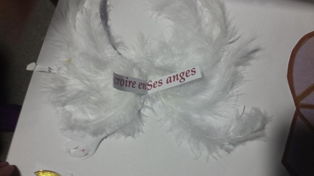 Ma 4ème poupette superbe travail également avec de belles ailes d'anges, une superbe mise en page.