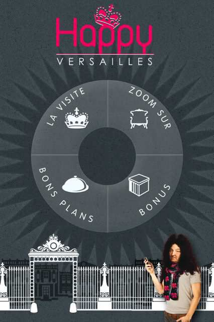Happy Versailles : une appli ludique pour visiter la cité royale