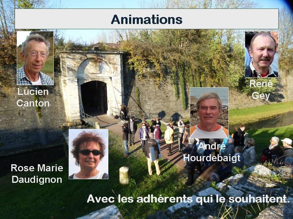 Assemblée Générale :  Présentation (Odile),  Photos (Germaine),  Video (JCA) ...