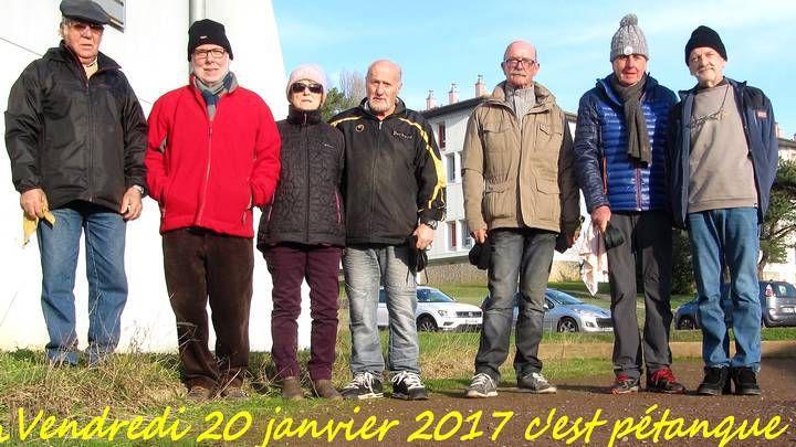 170120   Encore un bel après midi de Pétanque !