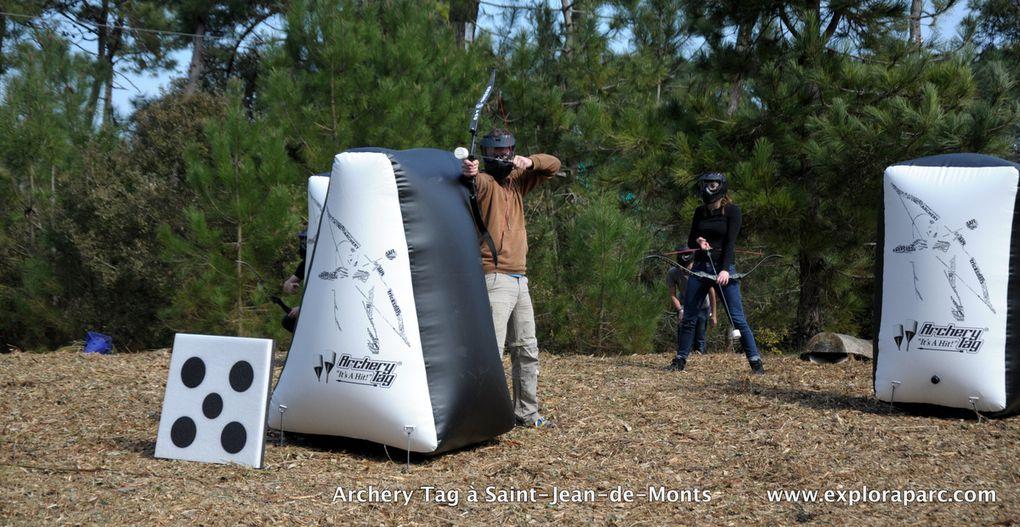 La nouveauté 2015 à Explora Parc : l'archery Tag, encore plus fun que le paintball ! à essayer de toute urgence !