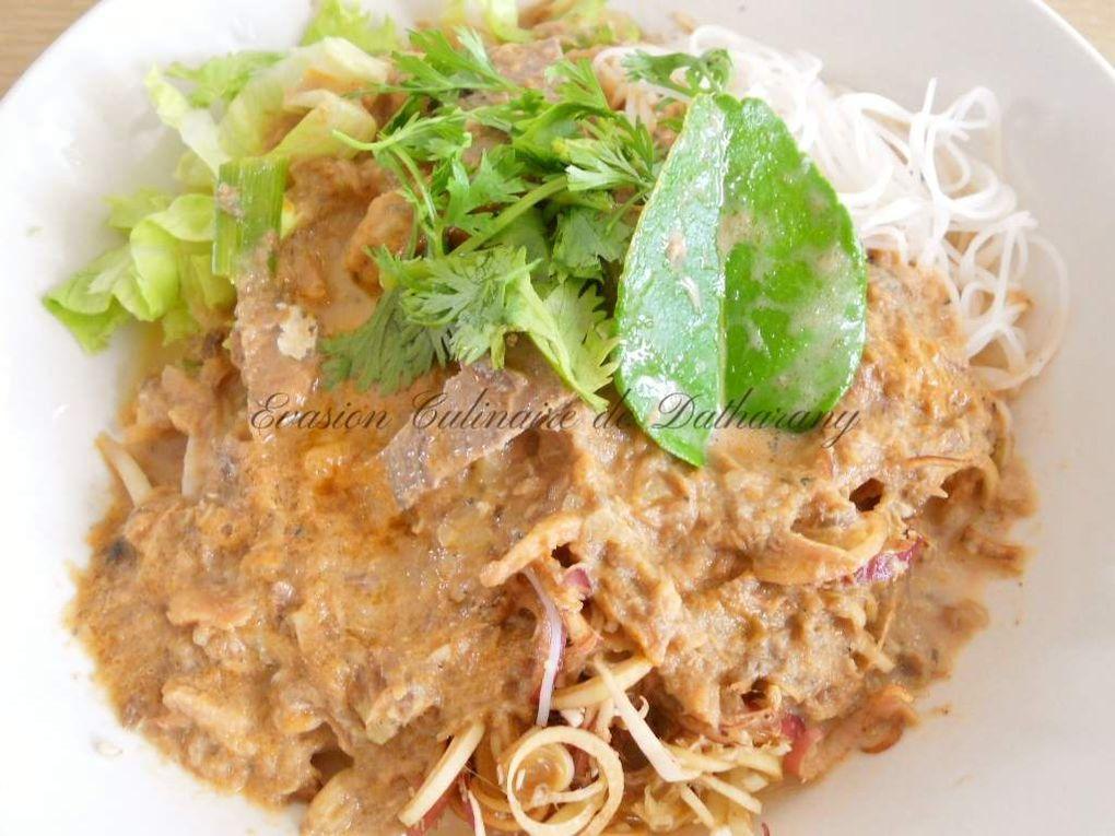 Khao Poun Nam Kathi (saï kap pa)