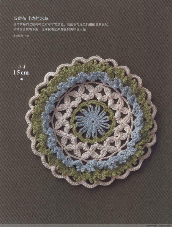 divers modèles au crochet (tutoriel gratuit - DIY)