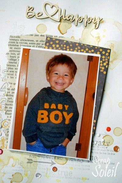 Be happy baby boy