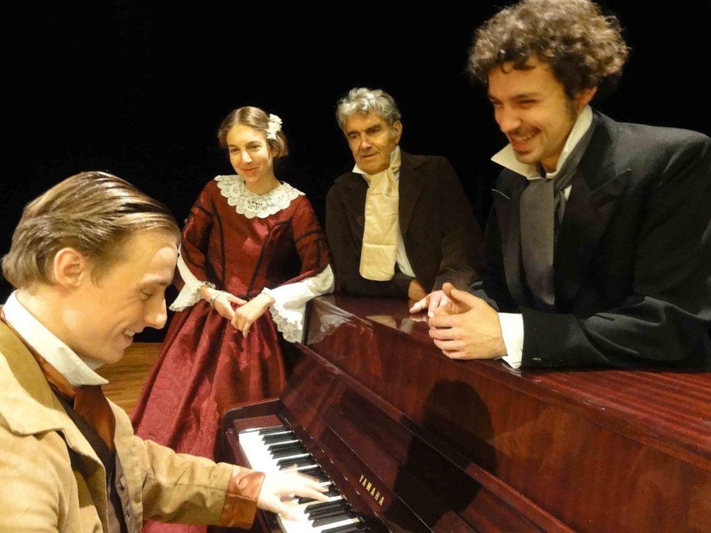 photos prises lors d'une répétition par J.P. Grandclaudon