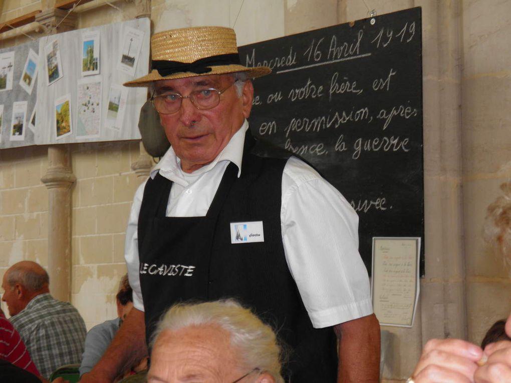 Barbecue amical de Saint-Julien-des-Églantiers le 10 août 2014