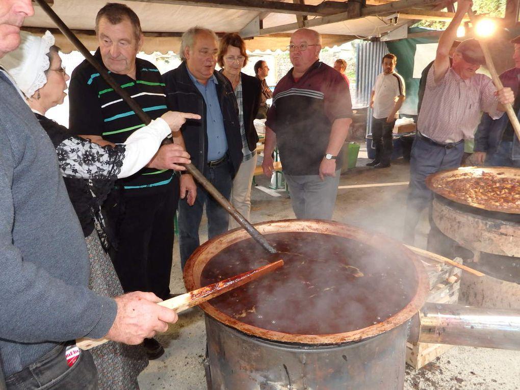 36ème fête du pommé de Bazouges-la-Pérouse.