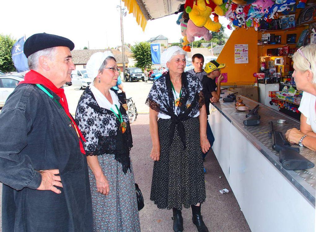 La foire-expo et le comice agricole cantonal le 30 aout à Pré-en-Pail.