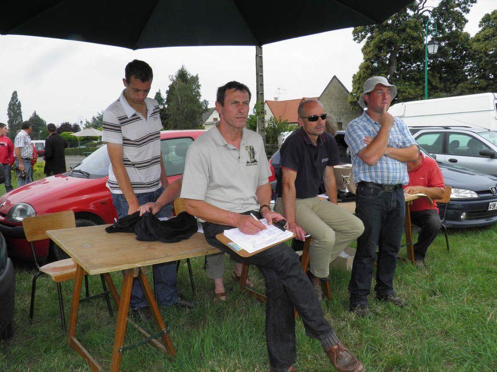 Photos des concours de percherons de 2011 à Saint-Pierrre-des-Nids.