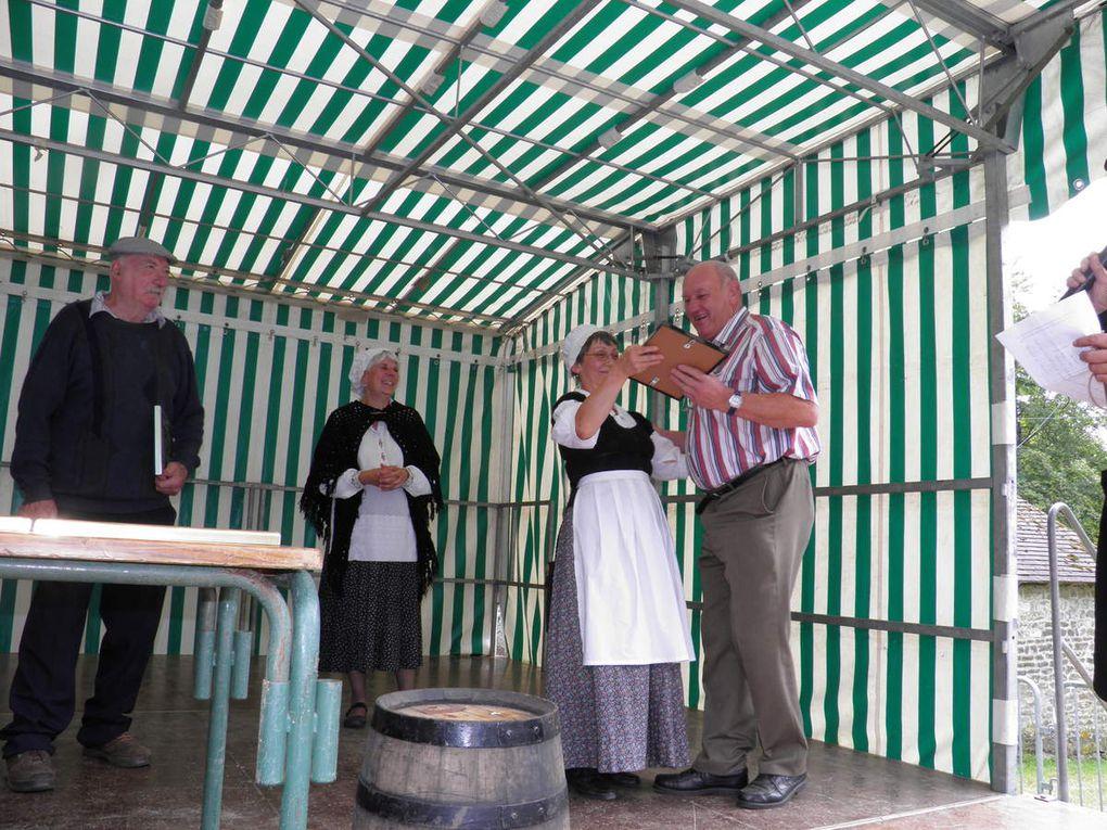 Dégustation du 28 mai 2011 à Pré-en-Pail et remise des prix du 30 juillet 2011 à Sainte-Anne de Champfrémont.