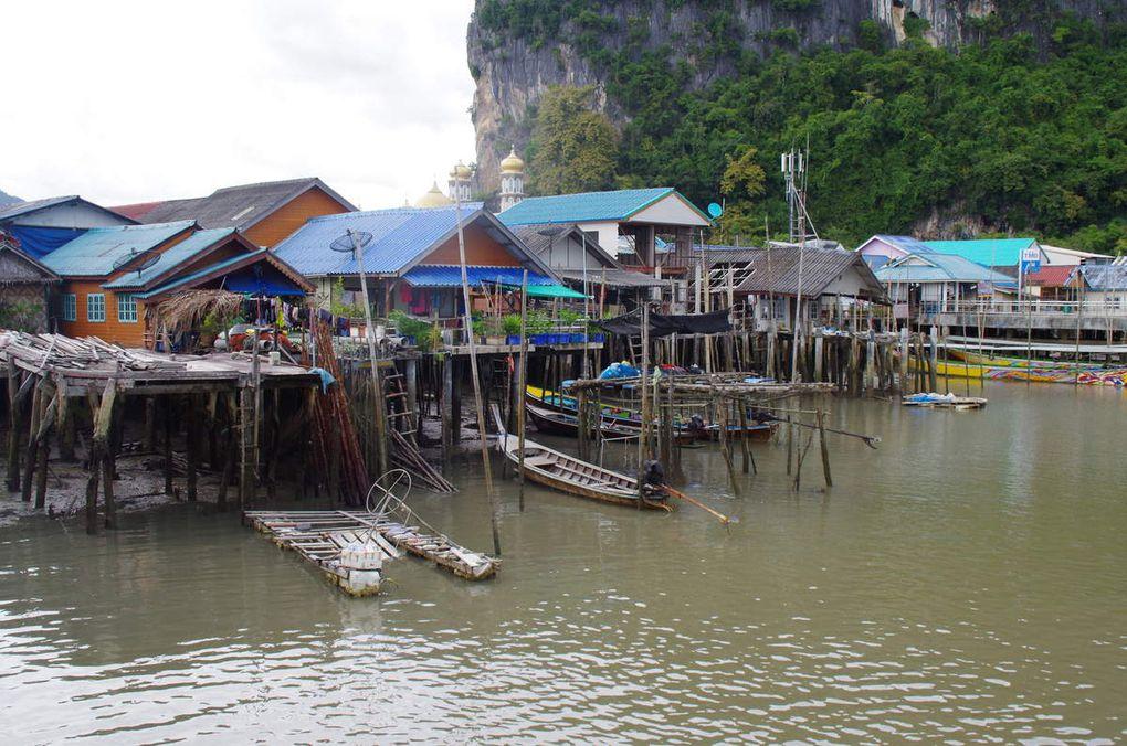 Excursion dans la baie de Phang Nga et Massage Thaï