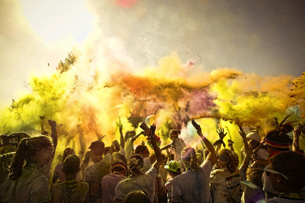 Color Run de Sherbrooke 2016