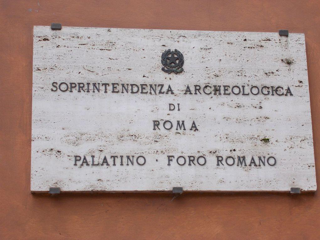 LE Palatino :  https://fr.wikipedia.org/wiki/Mont_Palatin