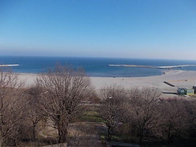 Constanta, coucher de soleil impossible sur la mer Noire....mais  possible sur le lac Siutghiol, pas de photos des immeubles en béton qui pullullent
