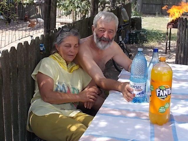 visites alentour de Targoviste et  chez différents amis de Doina et Titi, travaux à Vulfuri