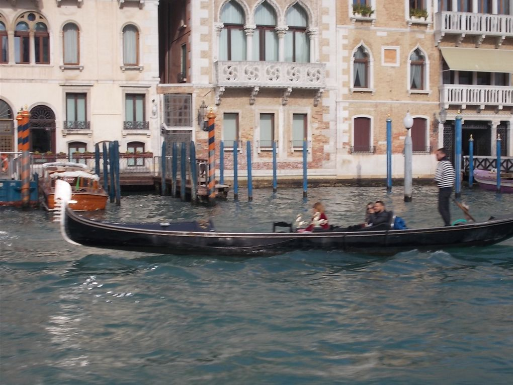 le dernier jour à Herceg novi (tempête ) la riviera croate, Venise et tout son charme, et retour en France  par le tunnel du Mont Blanc.