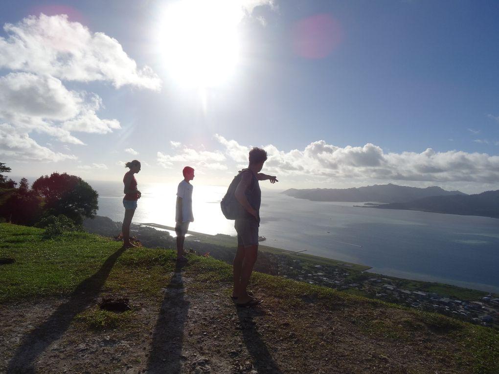 5 juillet 2014, nous partons pour les îles, Raiatea, Tahaa, Huahine