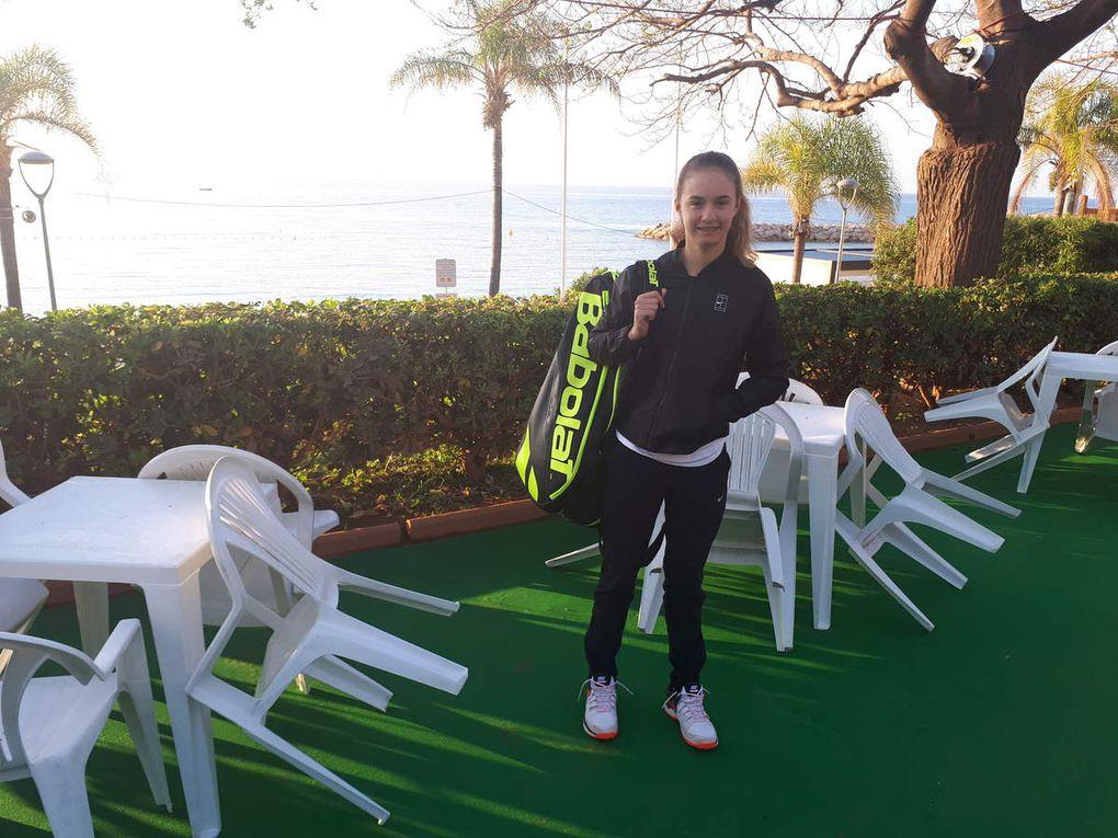 J'ai joué mon 1er ITF Junior !!!