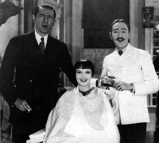 Dans le désordre d'apparition: Louise Brooks, un salon des années 50, une coupe 80's à la tondeuse, Christiaan et l'undercut, Sara Cummings et Shauna White