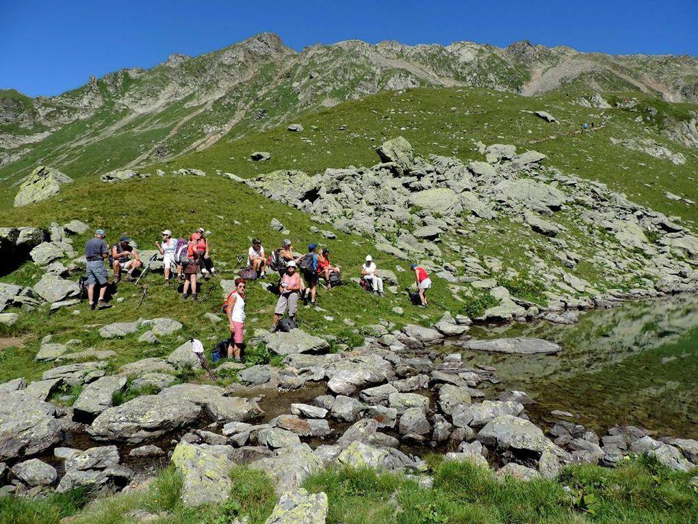 Col de la Jasse Massif de Belledonne ADAPAR le 31 juillet 2016