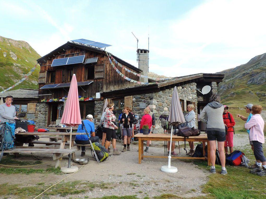 Nuit et randonnée à partir du Refuge des Drayères Névache avec l'ADAPAR les 29 et 30 août 2017