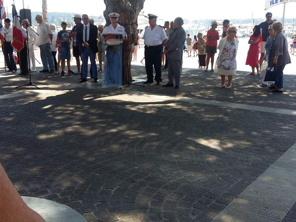 Samedi 27 mai, l'AMMAC Bandol a participé à la &quot&#x3B;Commémoration de la journée nationale de la résistance&quot&#x3B;