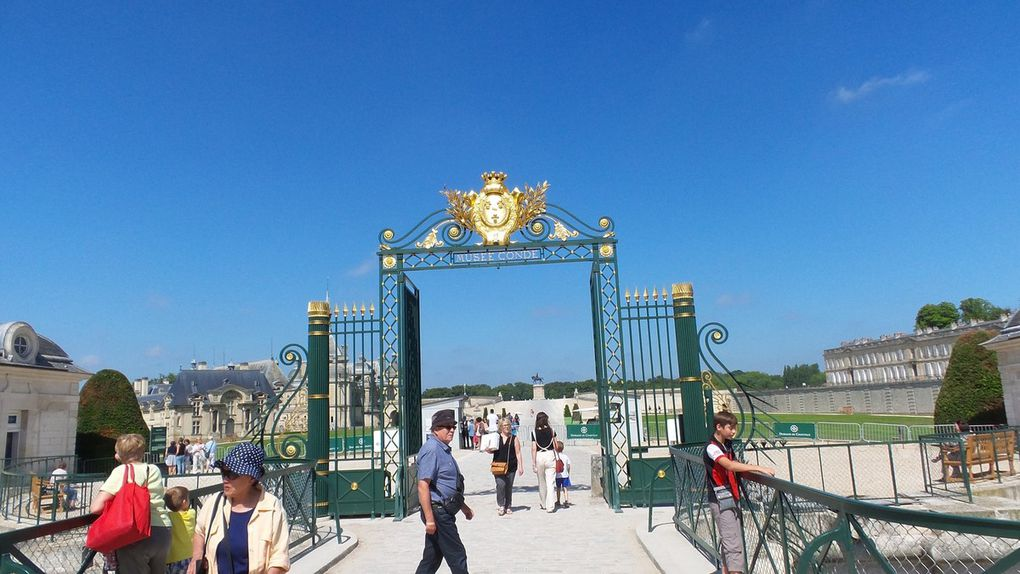 VISITE DU CHATEAU DE CHANTILLY