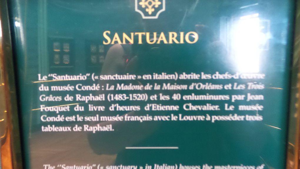 VISITE DU CHATEAU DE CHANTILLY