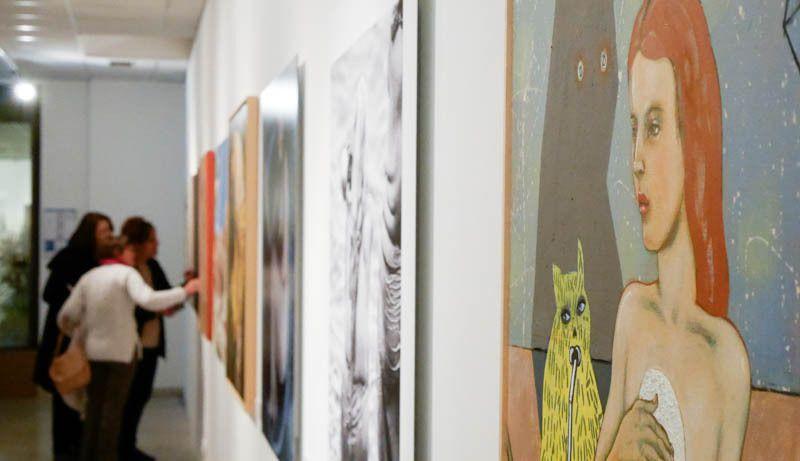 """Vues de l'exposition """"Vénus éternelle"""" à Arles, Hôtel-Dieu Espace Van Gogh"""