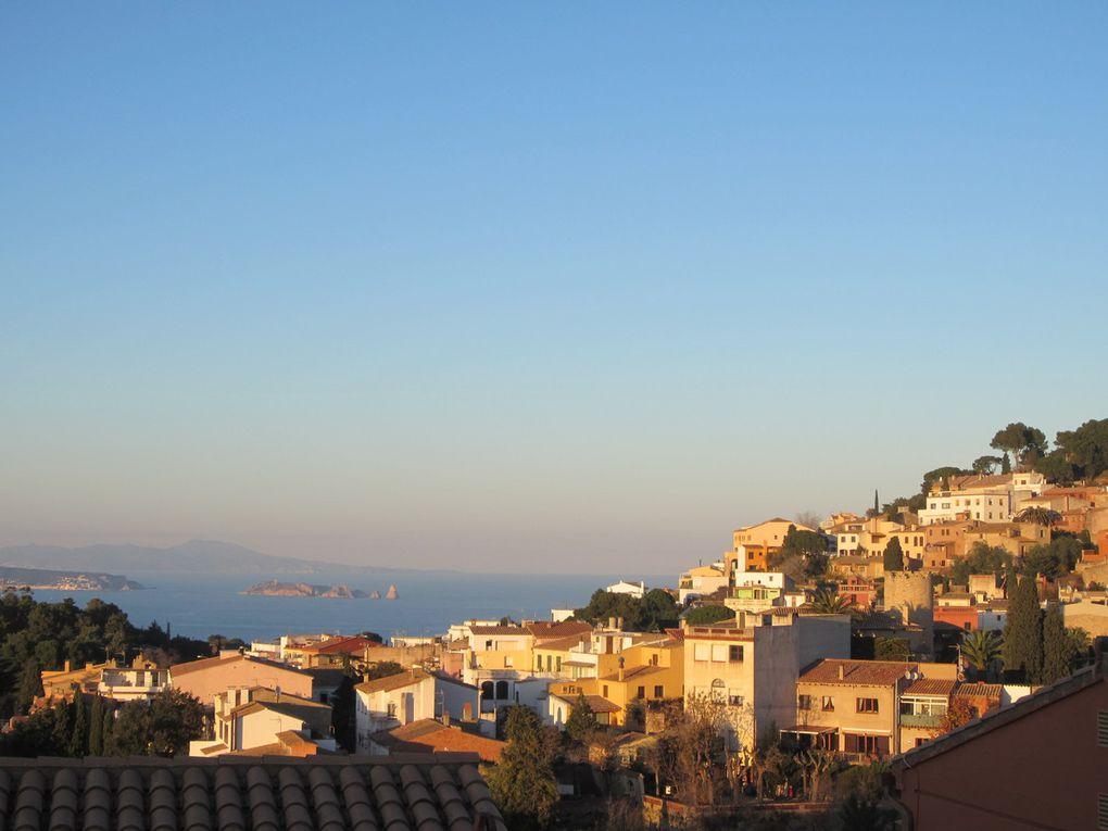 Girone et villages côtiers, décembre 2014