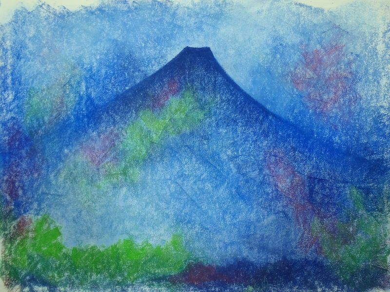 Memories Of Japan, Paint And Pastel - Alice Maynard