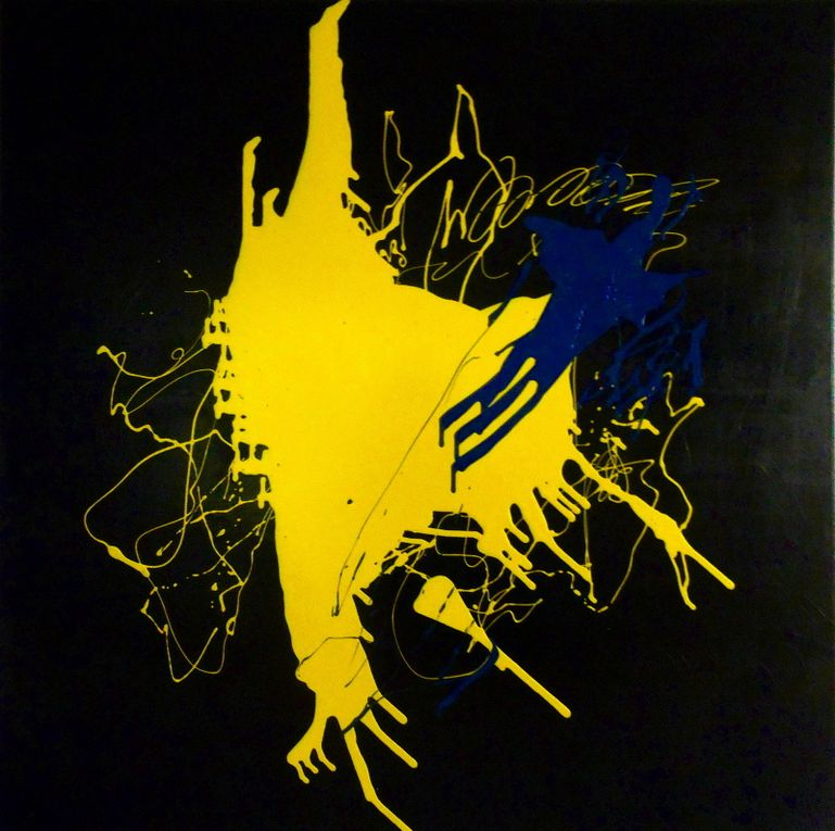 Contrast - Acrylic on canvas