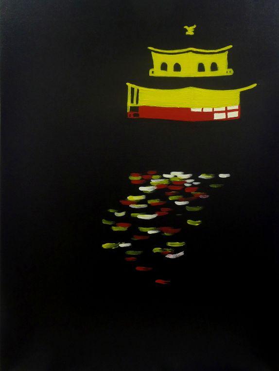 Kinkakuji - Acrylic on canvas