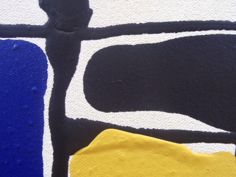Free Neo-plasticism - Acrylic on canvas