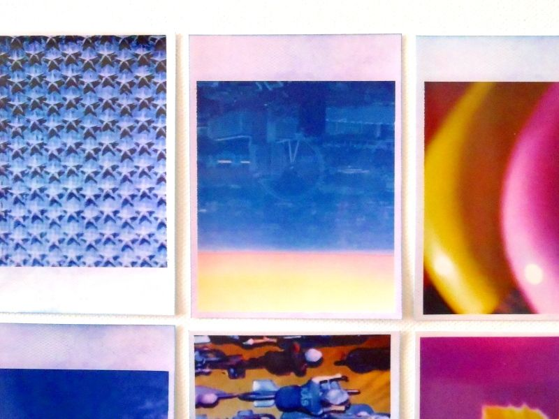Polaroïd - Photographies sur toile &#x3B; 100*100 cm