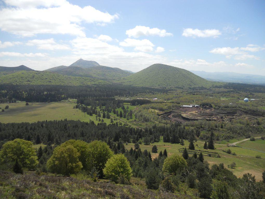 Dimanche 15 Mai, Objectif Puy de Dôme, 52kms et 1650D+